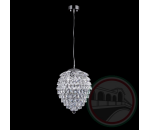 Crystal Lux CHARME SP2+2 LED CHROME/TRANSPARENT