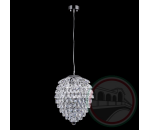 Crystal Lux CHARME SP3+3 LED CHROME/TRANSPARENT