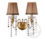 Crystal Lux ALEGRIA AP2 GOLD-BROWN