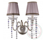 Crystal Lux ALEGRIA AP2 SILVER-BROWN