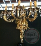 Brass & Crystal Lighting 99080-5A